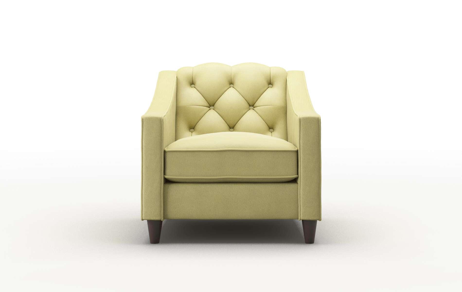 Manchester Bella Apple Chair espresso legs 1