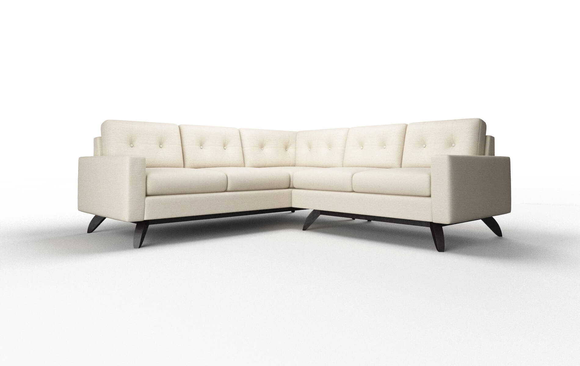 Milan Phoenix Birch Sectional - DreamSofa