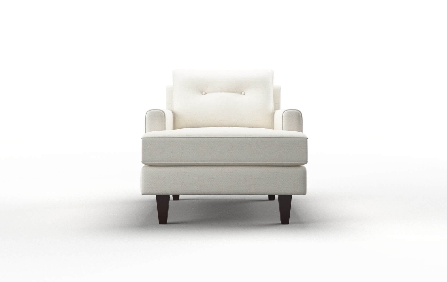 Naples Catalina Ivory Chair espresso legs 1