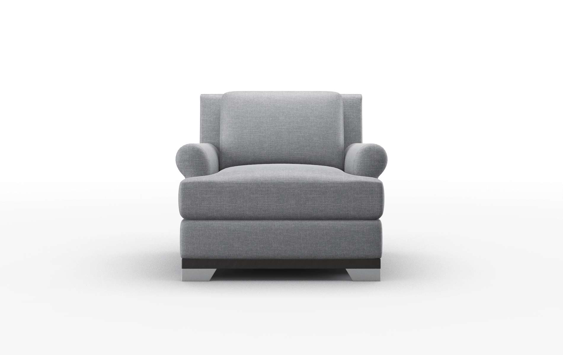 Newyork Keylargo Graphite Chair espresso legs 1