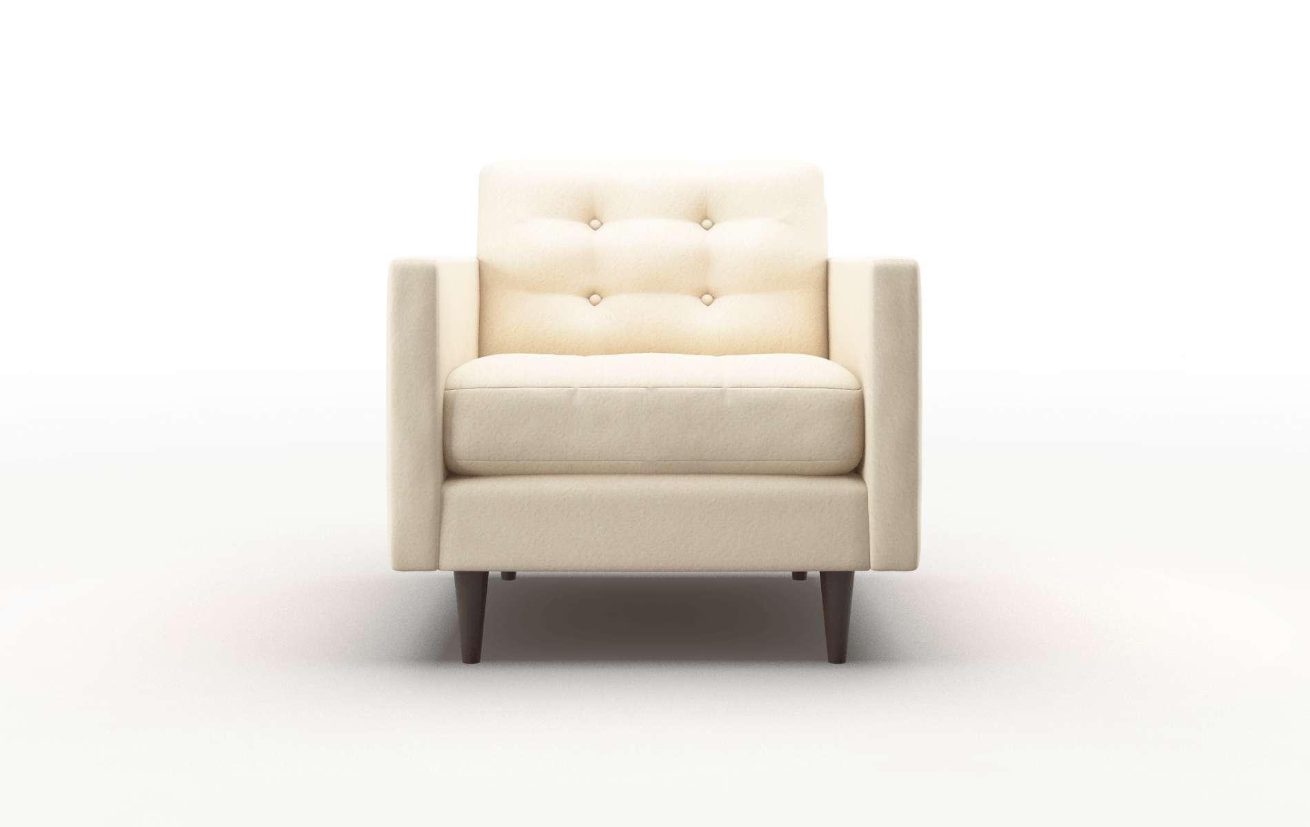 Oslo Bella Buckwheat Chair espresso legs 1