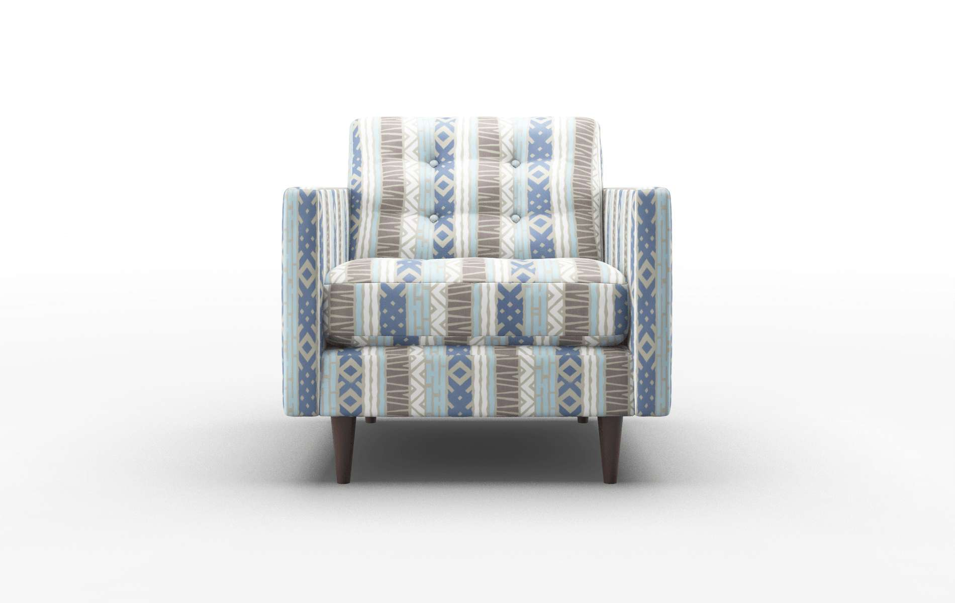 Oslo Bodhi Indigo Chair espresso legs 1