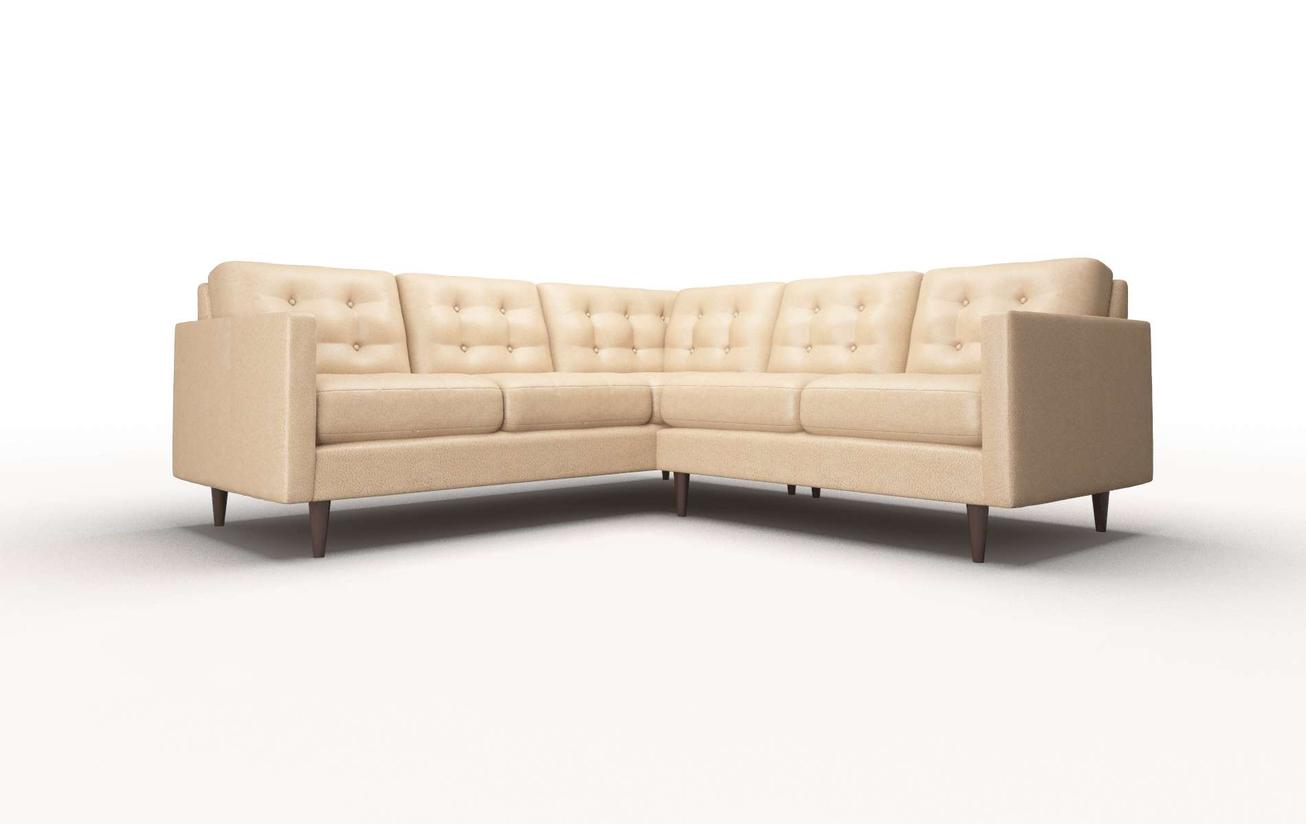 Oslo Ford Dune Sectional Espresso Legs 1