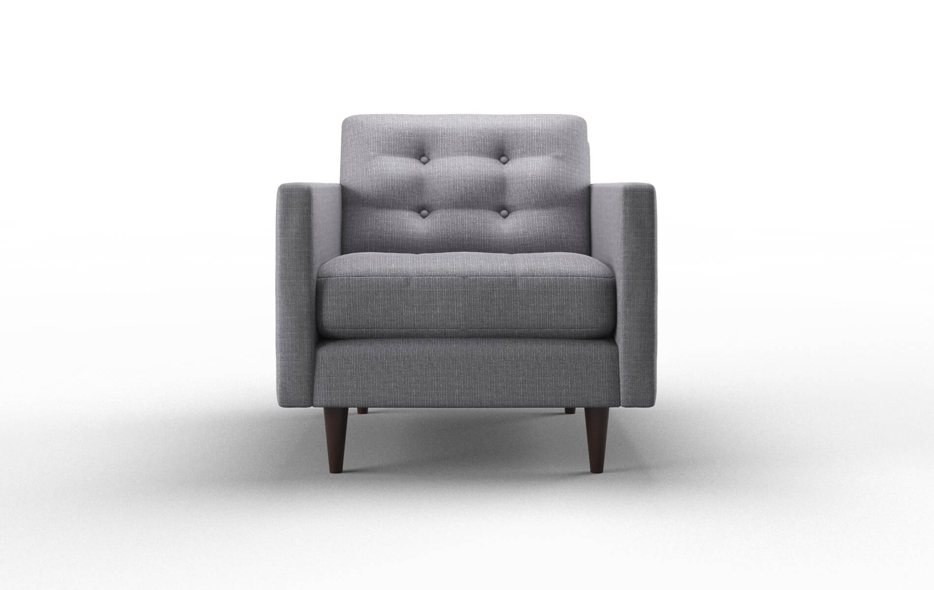 Oslo Parker Ash Chair espresso legs 1