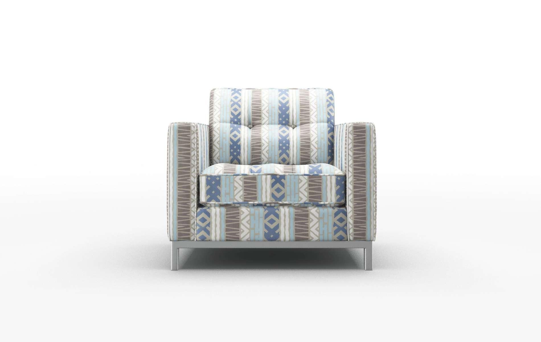Oxford Bodhi Indigo Chair metal legs 1