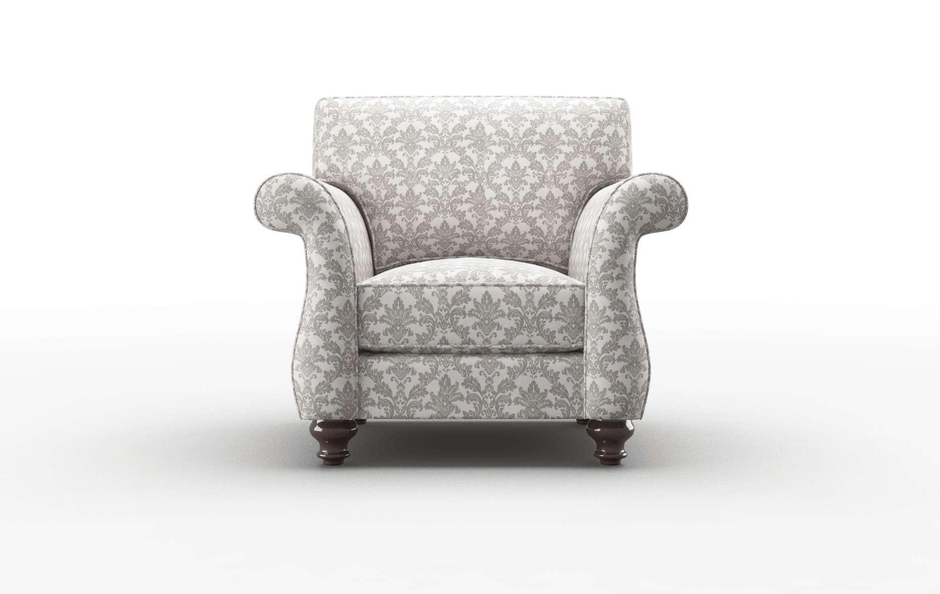 Pisa Bergamo Dove Chair espresso legs 1