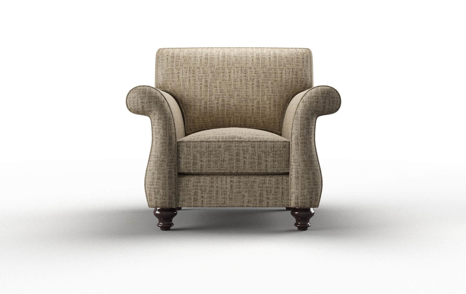 Pisa Marcy Camel Chair espresso legs 1