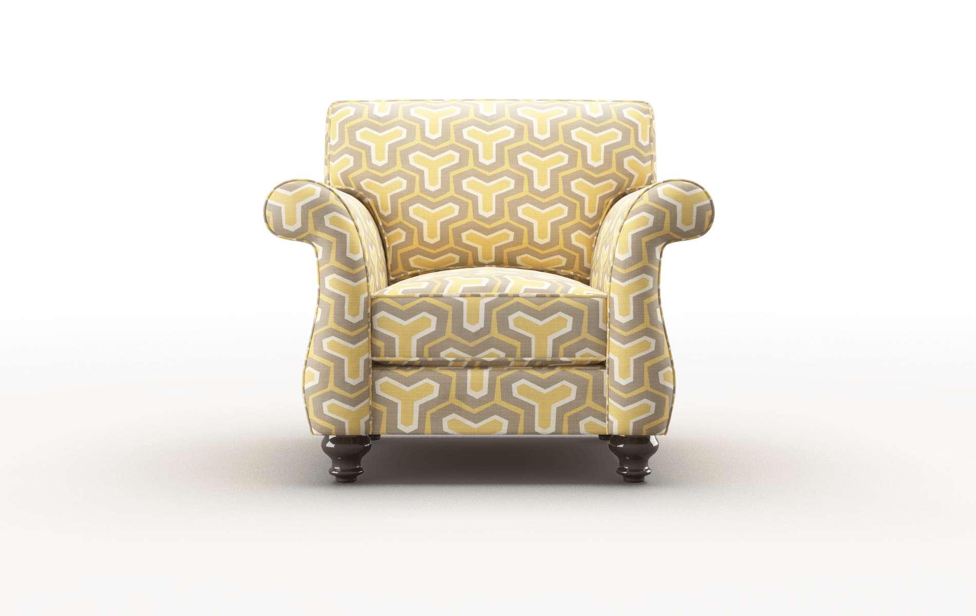 Pisa Merci Dijon Chair espresso legs 1
