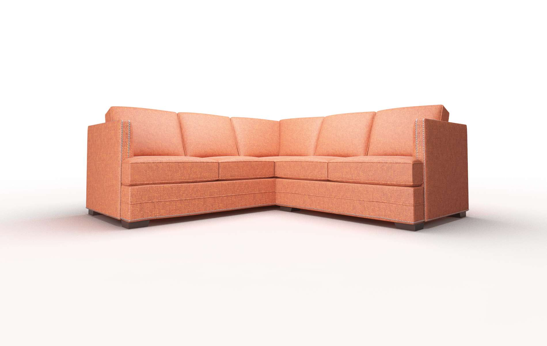 Riga Notion Tang Sectional espresso legs 1