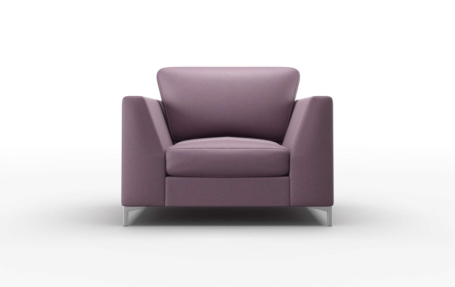 Royal Bella Aubergine Chair metal legs 1