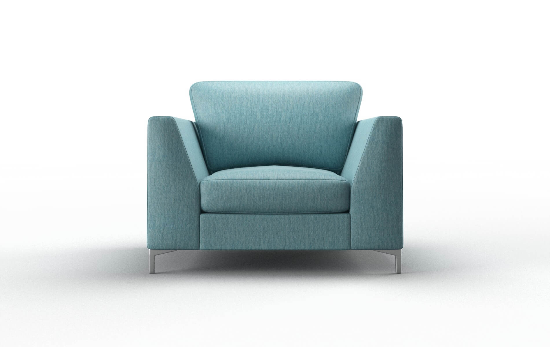 Royal Cosmo Turquoise Chair metal legs 1