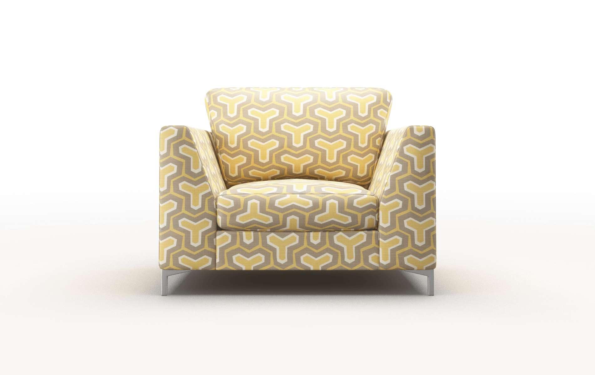 Royal Merci Dijon Chair metal legs 1