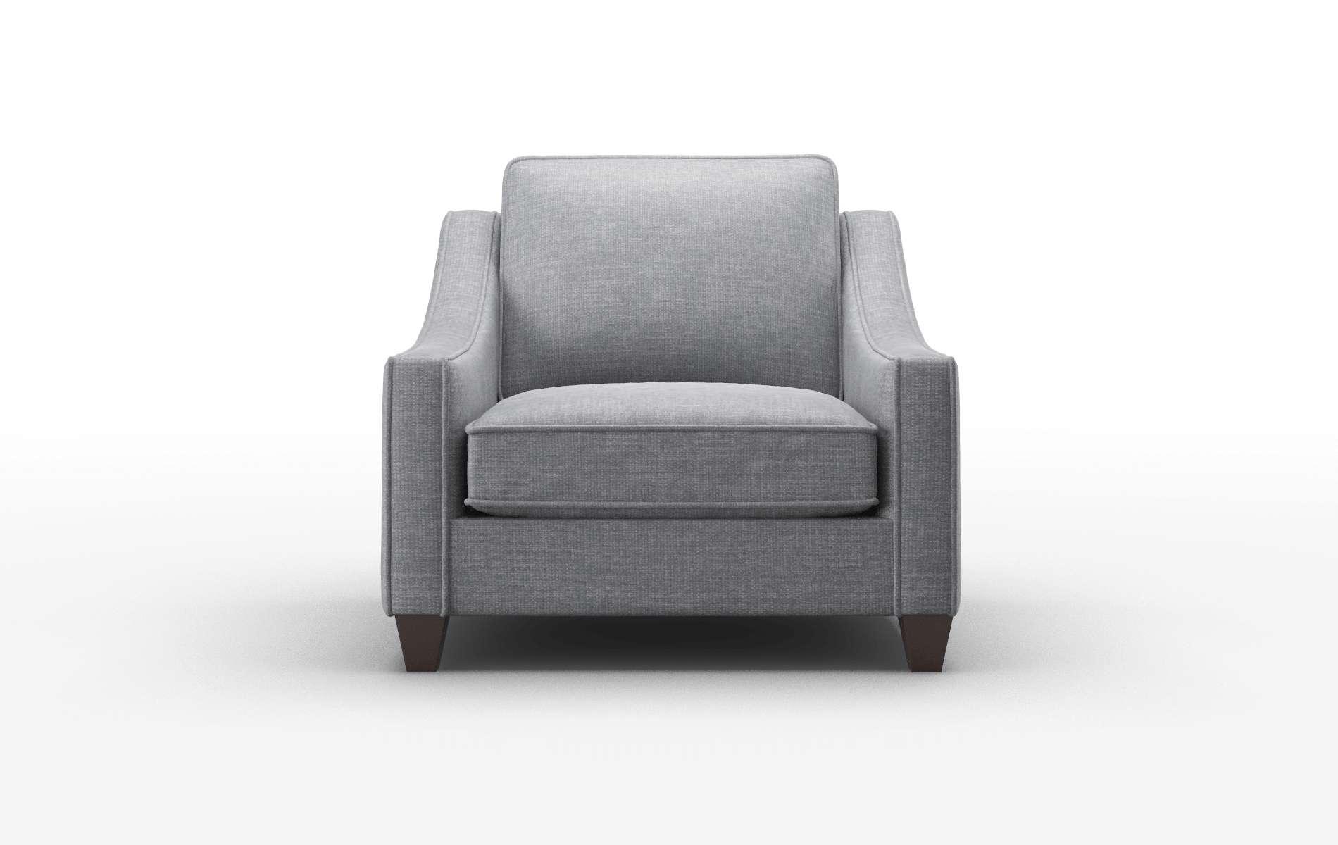 Sanda Keylargo Graphite Chair espresso legs 1