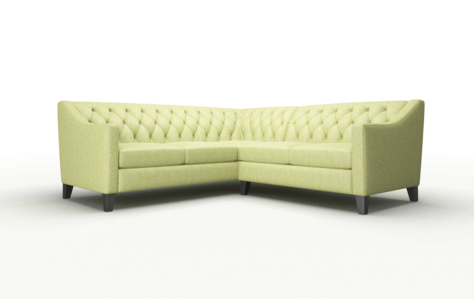 Seville Notion Appletini Sectional espresso legs 1