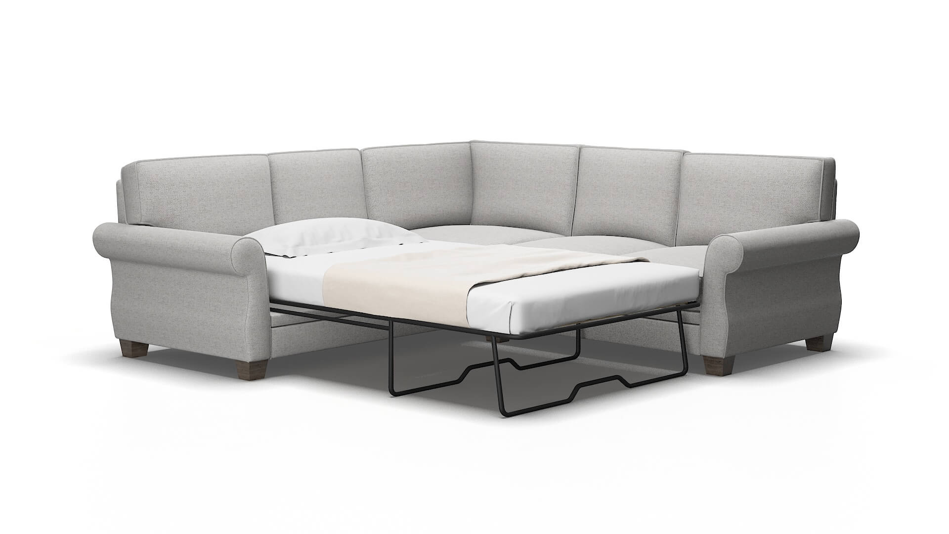 Rome Catalina Silver Sectional Sleeper 2