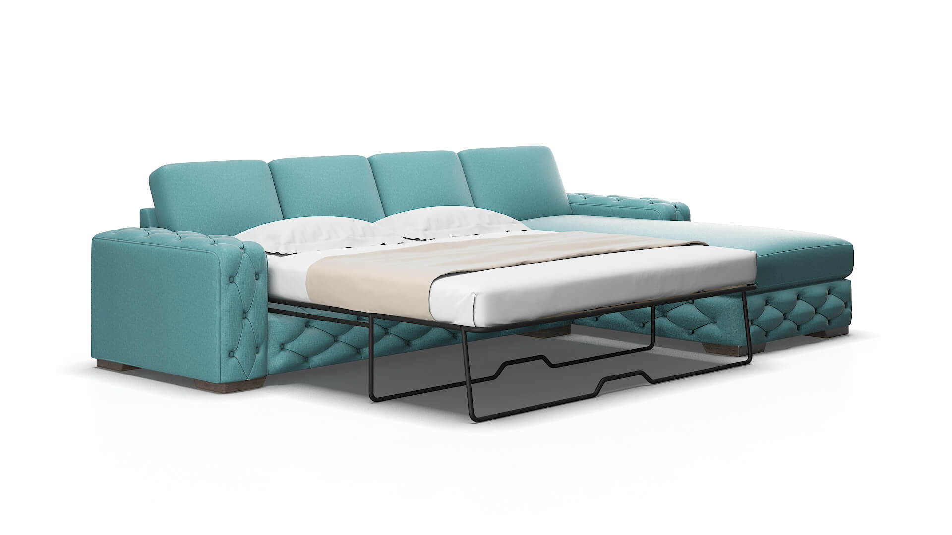 Windsor Parker Turquoise Panel Sleeper 2