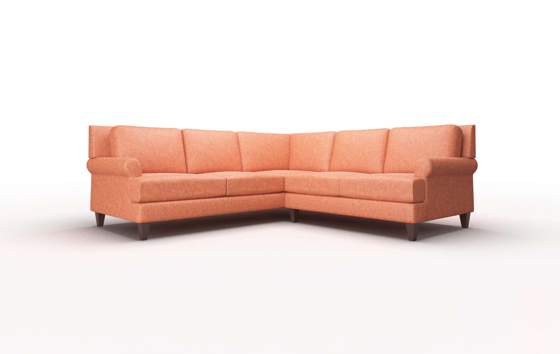 Stockholm Notion Tang Sectional espresso legs 1