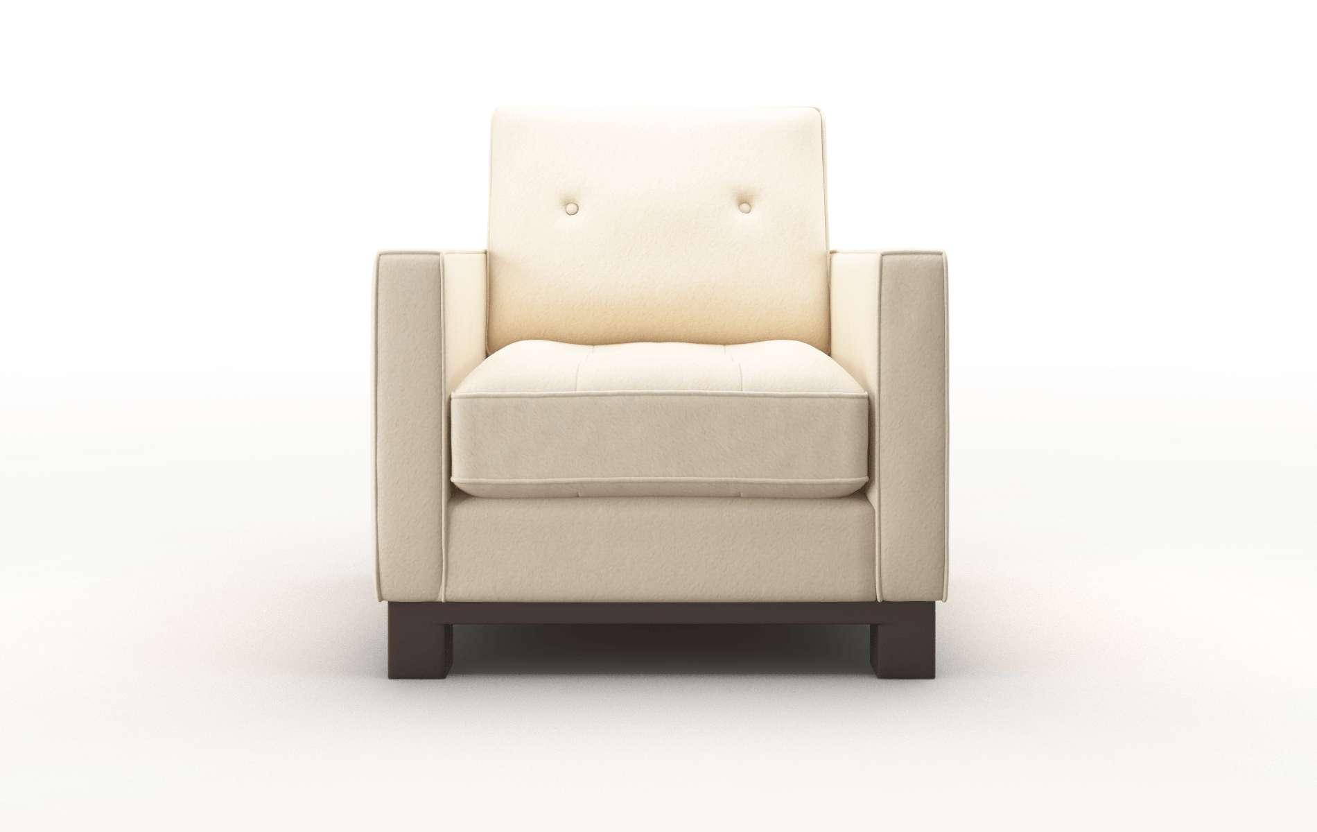 Syros Bella Buckwheat Chair espresso legs 1