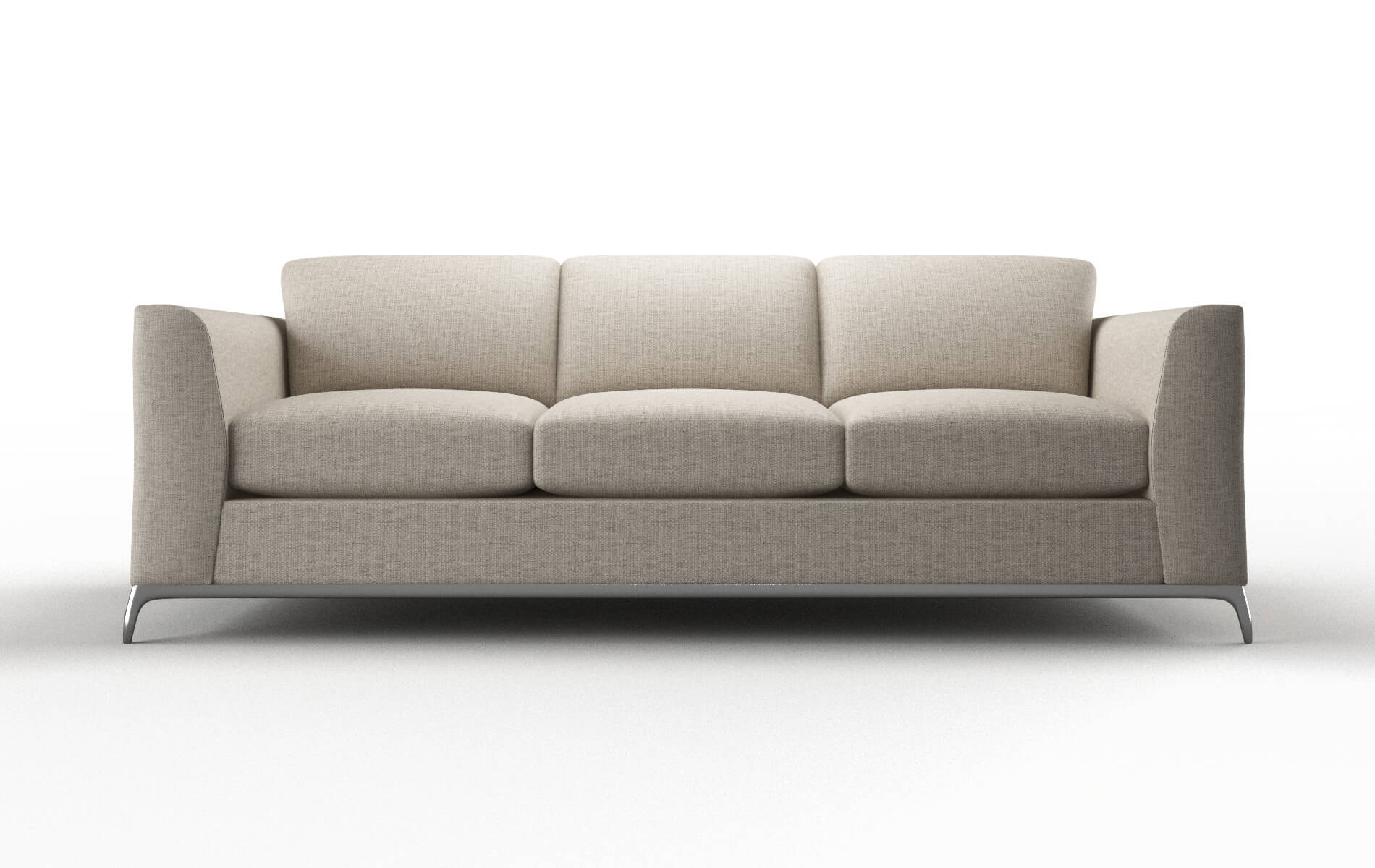 Toronto Parker Wheat Sofa metal legs 1