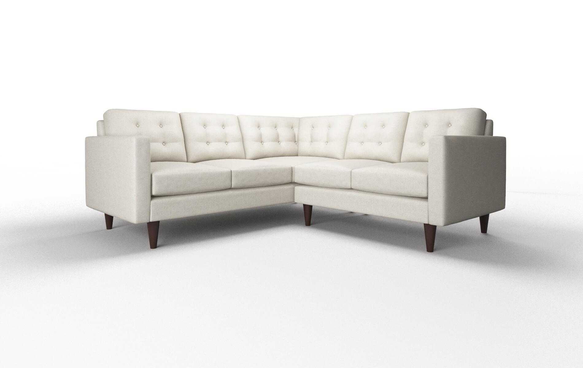 Turin Sasha Linen chair espresso legs