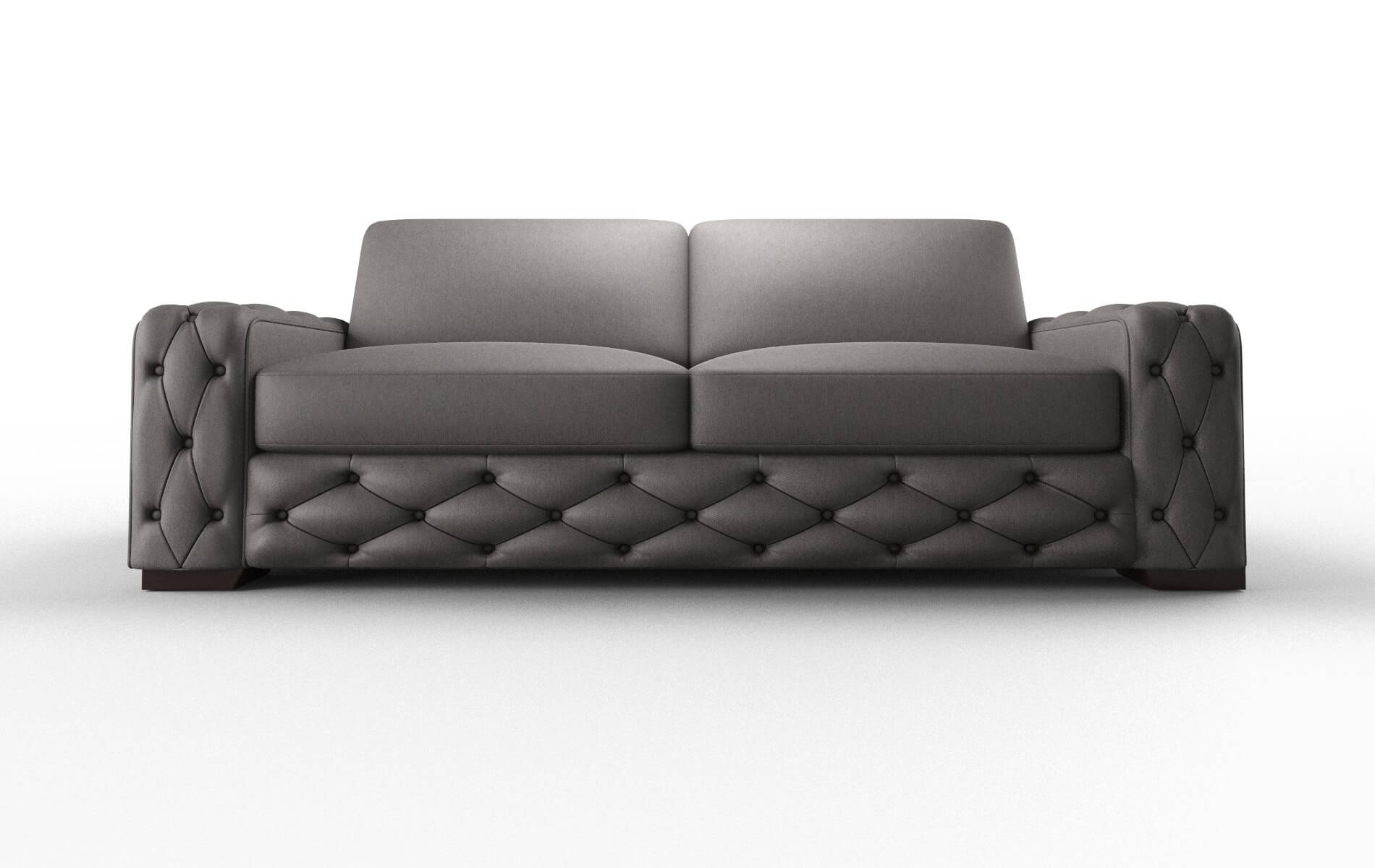 Windsor Cosmo Charcoal Sofa espresso legs 1
