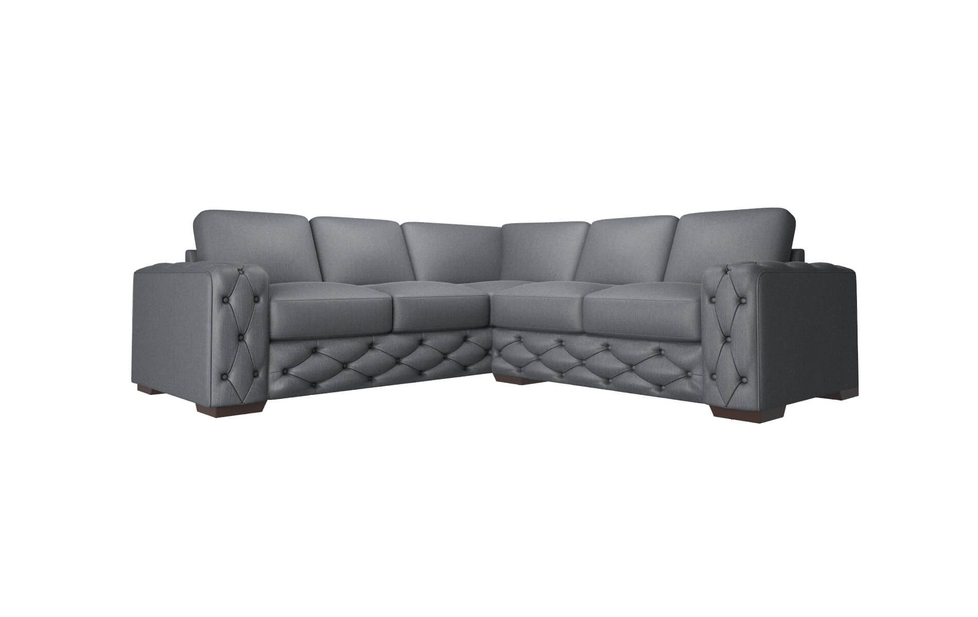 Windsor Malibu Sea Sectional espresso legs
