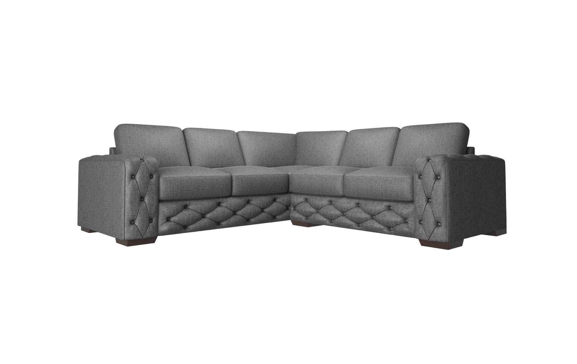 Windsor Marcy Baltic Sectional espresso legs